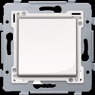 Niko   Kruisschakelaar met bedieningswip   Original Bright White   111-81715