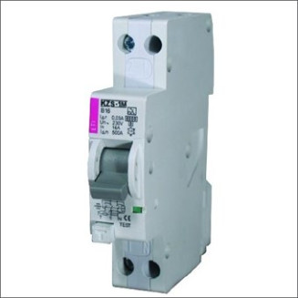 ETI Aardlekautomaat   C10A 30mA 2P   KZS-1M