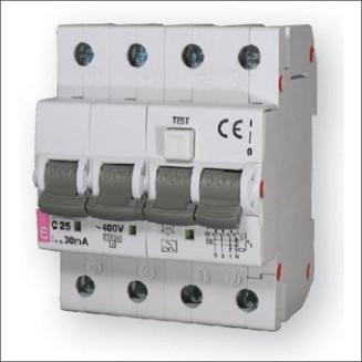 ETI Aardlekautomaat | C25A 30mA 4P | KZS-4M