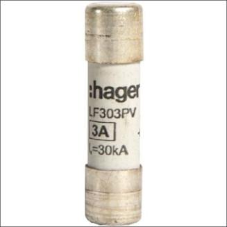 HAGER LF303PV ZEKERING PV 10X38 1000V DC 3A