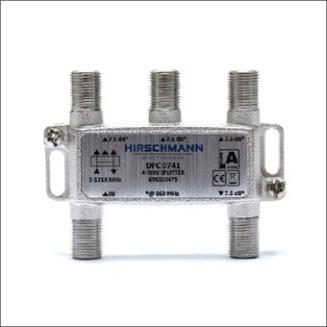 HIRSCHMANN DFC 0741 VERDELER 4V+F-CONN AANSL
