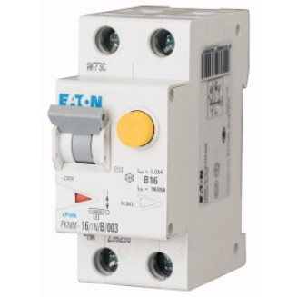 EATON PKNM-25/1N/B/03-A-MW AARDL AUTM B25A300MA 10KA 1P+N