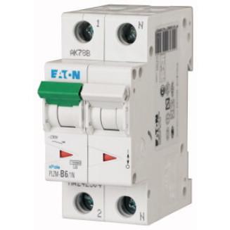 Eaton installatieautomaat / 1-polig + nul, C6a / PLZM-C6/1N-MW / 242330