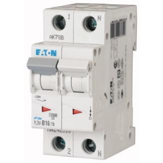 Eaton installatieautomaat / 1-polig + nul, B16A / PLZM-B16/1N-MW / 242310
