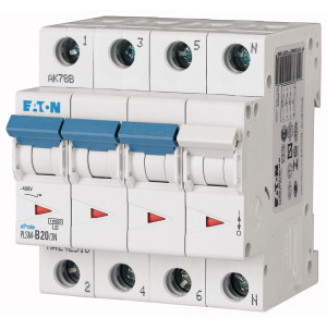 EATON PLSM-C20/3N-MW AUTOMAAT C20A 10KA 3P+N