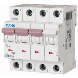 EATON PLSM-B32/3N-MW AUTOMAAT B32A 10KA 3P+N