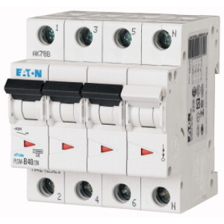 EATON PLSM-B40/3N-MW AUTOMAAT B40A 10KA 3P+N