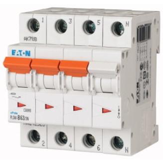 EATON PLSM-B63/3N-MW AUTOMAAT B63A 10KA 3P+N