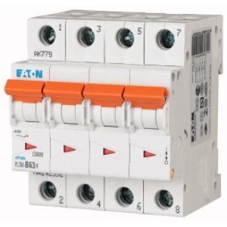 EATON PLSM-C63/4-MW AUTOMAAT C63A 10KA 4P