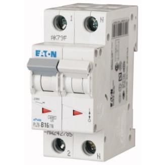 Eaton installatieautomaat / 1-polig + nul, B16A / PLZ6-B16/1N-MW / 242785