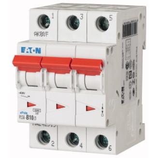 EATON PLS6-C10/3N-MW AUTOMAAT C10A 6KA 3P+N