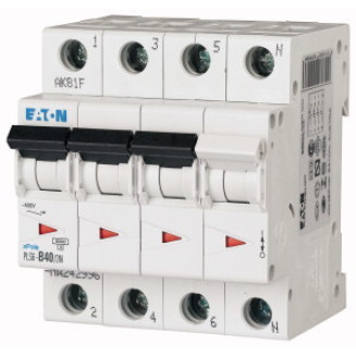 Eaton krachtgroep | B40A 4P | PLS6-B40/3N-MW