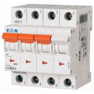 Eaton krachtgroep | B63A 4P | PLS6-B63/3N-MW