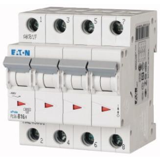 EATON PLS6-C16/4-MW AUTOMAAT C16A 6KA 4P