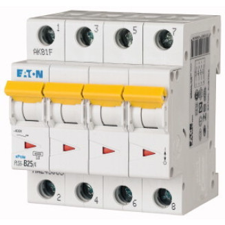 EATON PLS6-C25/4-MW AUTOMAAT C25A 6KA 4P