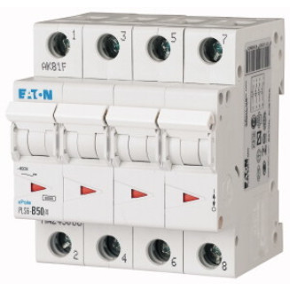 Eaton krachtgroep / 4-polig, C50A / PLS6-C50/4-MW / 243092