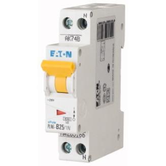 Eaton installatieautomaat / 1-polig + nul, C25A / PLN6-C25/1N-MW / 263176