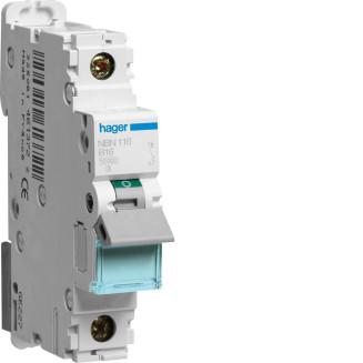 Hager installatieautomaat / 1-polig, B16A / NBN116