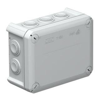OBO T100 KABELDOOS IP66 LEEG 10XM25