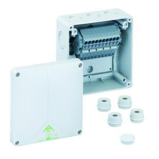 SPELSBERG Abox SL-6mm2 KABELDOOS 140X140+KLEM5P IP65