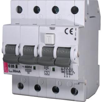 ETI Aardlekautomaat | B6A 30mA 4P | KZS-4M