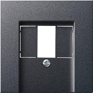 Gira | centraalplaat USB/luidspreker | Systeem 55 ANTR