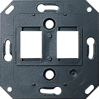 Gira | draagring 2 x modular-jack | standaard 55 | 019100