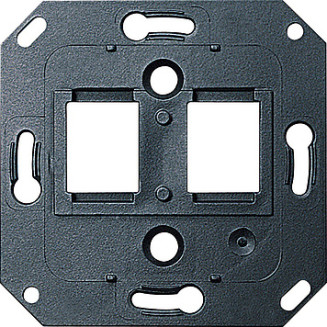 Gira | draagring 2 x modular-jack | standaard 55