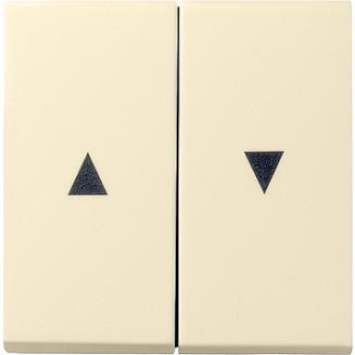 Gira   wippen voor jaloezieschakelaar met pijlsymbolen   standaard 55 CWG