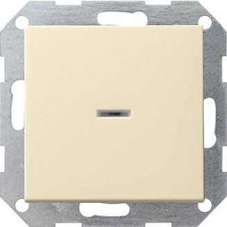 Gira | drukvlakschakelaar 2P Controle | standaard 55 CWG