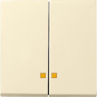 Gira | Schakelwip met tweedelig controlevenster | Systeem 55 CWG