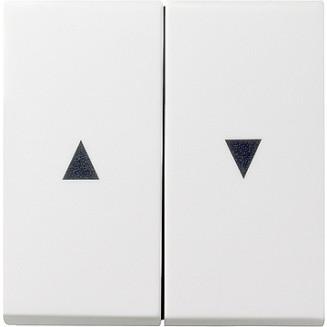 Gira | wippen voor jaloezieschakelaar met pijlsymbolen | standaard 55 ZWM