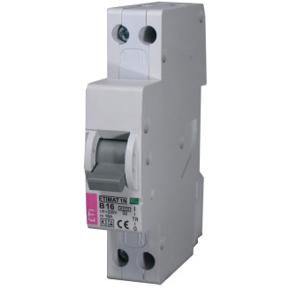 Etimat installatieautomaat | B6A 2P |