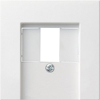 Gira | centraalplaat USB/luidspreker | Systeem 55 ZWM | 027627