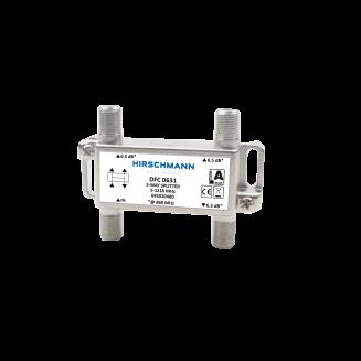 HIRSCHMANN DFC 0631 VERDELER 3V+F-CONN AANSL