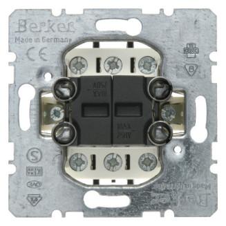 Berker   Serie pulsdrukker 2x wisselcontact   503808