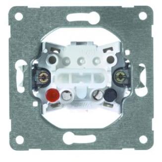 PEHA | drukcontact terugverend 2 maakcontacten | 515 T