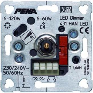 PEHA 431 HAN LED O.A. DIMMER INB LED 6-60W