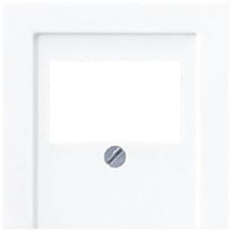 Jung | Afdekking voor luidsprekeraansluiting | AS500 Alpine wit | A 569 PLT WW