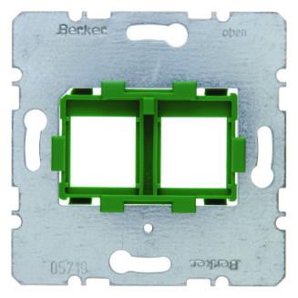 BERKER 454104 DRAAGFRAME TBV 2XMJ GROEN