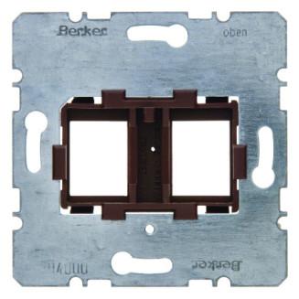 BERKER 454107 DRAAGFRAME TBV 2XMJ BRUIN