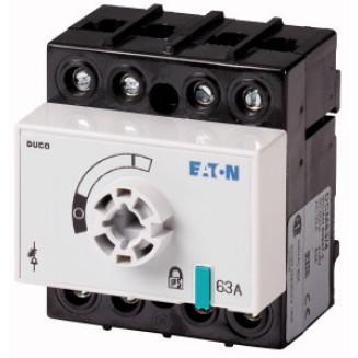 EATON DCM-63/4-SK+VC DUCOSCH 63A 4P EXCL KNOP