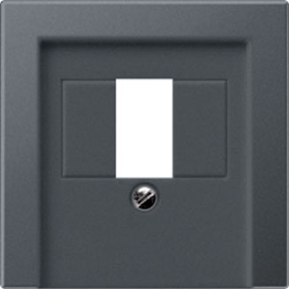 Jung | Centraalplaat USB/luidspreker | A550 Antraciet mat | A 569 BF PL T ANM