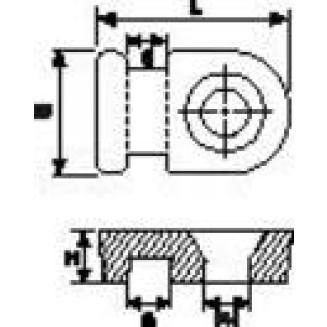 HELLERMANN MB1-PA66-NA-C1 BEV VOET TBV BBAND 2.6MMTRANSP
