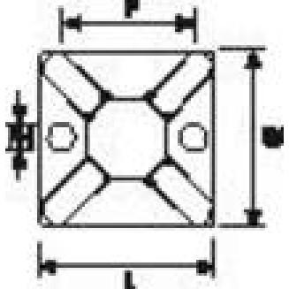 HELLERMANN MB3-PA66-NA-C1 BEV VOET TBV BBAND 3.6MMTRANSP