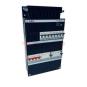 GE  AEG Groepenkast  8 Groepen 8 x Lichtgroepen  2 Aardlekschakelaars 4P  Fix-O-Rail 220x330 mm  3 Fase