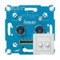 IONLED LED Dimmer 2 x 200 Watt inclusief frontplaat | IDD 2x200W-SET