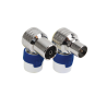 HIRSCHMANN SHOP KOKWI5/KOSWI5 COAX CONNECTOR MALE/FEMALE