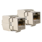 HIRSCHMANN SHOP KS 6A/2 KEYSTONE CAT6A RJ45 2ST SHOP
