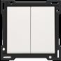 Niko   Schakelwip 2-voudig   Original White   101-61505